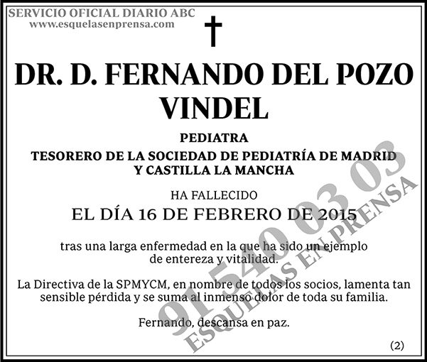 Fernando del Pozo Vindel